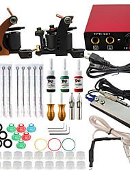 itatoo® tattoo 2 pro machinegeweren tattoo kit 3 tattoo inkt voeding naald grips