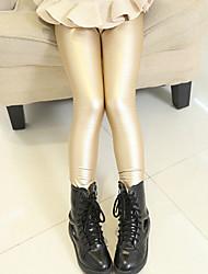 Polyester - Winter / Lente / Herfst - Girl's - Legging - Zwart / Rood / Beige