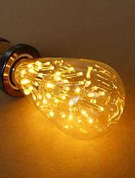 E27 ampoule 3w ST64 de Edison étoiles de la source de lumière décorative