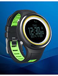 SUNROAD os140801 all'aperto orologio contapassi sport cronometro altimetro timer Display del termometro barometro bussola lcd