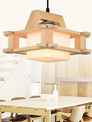 Solid Wood Living Room Lamp