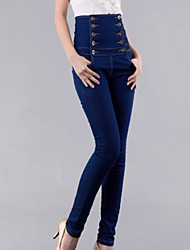 Damen Hose - Bodycon / Leger Denim