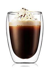Bodum 350ml чай pavina двойной эспрессо стены многоразовые стеклянные чашки кофе двойной стеклянные стены