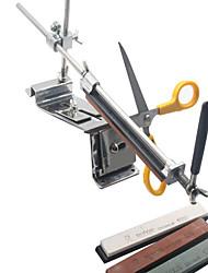 Vente en gros prix 2,015 newprofession système couteau cuisine affûtage de ciseaux lame de taille-crayon avec 4 pierres