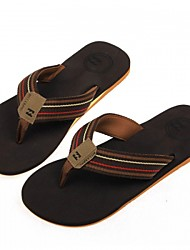 Men's slippers summer sandals men sandals flip soft cloth with non-slip rubber