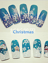 1pcs  Christmas Nail Stickers