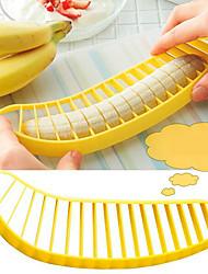 práctica máquina de cortar la fruta del cortador del plátano máquina de cortar del cuchillo del plátano