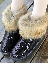 Women's Classic Insulated Winter Paillette Boots
