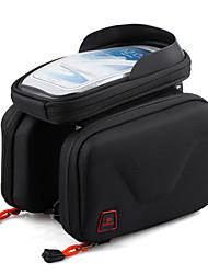 Promend® Bolsa de Bicicleta <10LBolsa Celular / Bolsa para Quadro de Bicicleta / Bolsa para Guidão de BicicletaÁ Prova-de-Chuva / Camurça