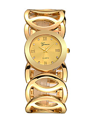 New Fashion Lady Gold Watches Women Full Stainless Steel Quartz Wristwatches Relojes Mujer Relogio Feminino Cool Watches Unique Watches