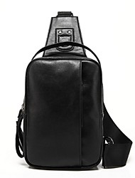 Для мужчин Полиуретан На каждый день / Для отдыха на природе Слинг сумки на ремне Коричневый / Черный