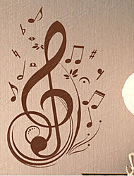 Music / Fashion Wall Stickers Plane Wall Stickers , PVC 56cm*90cm