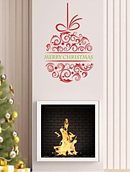 2015 New ZooYoo® Xmas24-NA Merry Christmas Wall Stickers Christian Room Home Decorations Flower