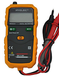HYELEC MS8231 The Latest Unique Non Contact Mini Auto Test DC AC Voltage Resistance Multimeter Tester