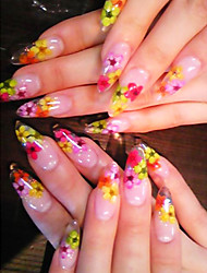 8PCS Floral Design Nail Art Stickers