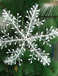 Fruit & Fleur de Décoration - Blanc - Noël  - en Plastique