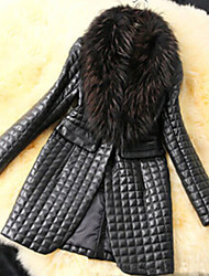 Ricci Women's Vintage/Sexy/Bodycon/Casual/Party Fur Winter Warm Coats & Jackets