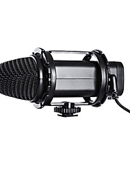 BOYA BY-V02 Stereo Condenser Microphone for DSLR Cameras Camcorders and Audio Recorders