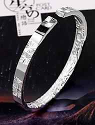 minimalistische mode opluchting binnen duizend mooie zilveren armband sterrenhemel opening