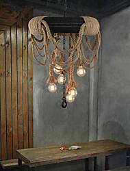 5 Lámparas Colgantes ,  Rústico/Campestre Otros Característica for Mini Estilo PlásticoDormitorio / Comedor / Habitación de