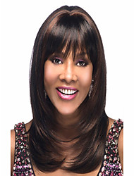Women's Daily Lovely Side Bang Syntheic  Wig