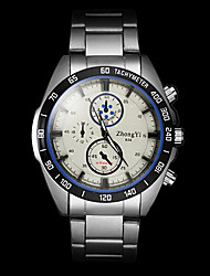 Men's Watch Quartz Dress Watch Alloy Band Wrist watch Cool Watch Unique Watch