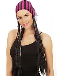 Frau. lange Haare GIE dunkle Haare GIE europa snd yhe USA eine Perücke