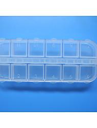Amovible Plastique Plastique Mallette à outils