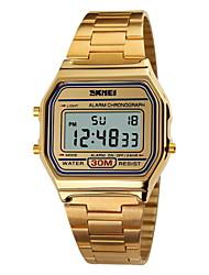SKMEI Мужской Спортивные часы Наручные часы электронные часы LCD Календарь Секундомер Защита от влаги тревога Спортивные часы Цифровой