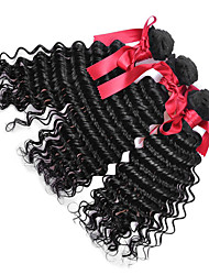 EVET Peruvian Loose Wave Virgin Human Hair 3 Bundles Extensions Pervian Virgin Hair Weaves Loose Wave Hair Free Shipping