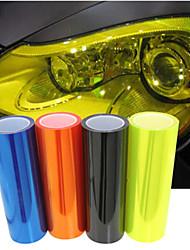 lorcoo ™ * 60cm film translucide arrière de la lumière de gommage de la membrane de la lumière de voiture de 30cm (don gratuit bord