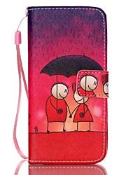 Pour Coque iPhone 6 / Coques iPhone 6 Plus Portefeuille / Porte Carte / Avec Support / Clapet / Motif Coque Coque Intégrale CoqueDessin