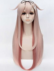 MATO BUY Game Kantai Collection Character Yudachi 80CM Gradient Color Cosplay Wigs High Temperature Wire Wigs