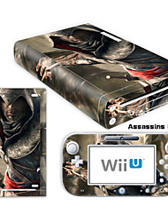 Adesivo - # - For Wii U Console & GamePad - Inovador - de PVC / Borracha - Audio and Video - para Wii U / Nintendo Wii U