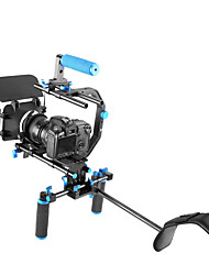 Professional DSLR Rig Set Movie Kit Film Making System for All DSLR Cameras and Video Camcorders