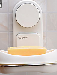 Women Magic Sucker Soap Holder Soap Dish Box Case Holder Rack For Bathroom Kitchen