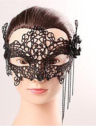 Halloween Fashion Sexy Black Lace Mask Bat Eye Wear