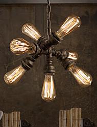 Max 60W Lampe suspendue ,  Traditionnel/Classique / Rustique / Vintage / Rétro Autres Fonctionnalité for Style mini MétalSalle de séjour