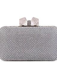 L.WEST®  Women's  Event/Party / Wedding / Evening Bag Diamonds Bowknot Delicate Handbag