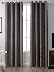 TWOPAGES Zac Collection Woodgrain Classic Diamond Soft Handfeel Panel CurtaIn Drapes (One Panel) Rust