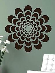 Botanical / Fashion Wall Stickers Plane Wall Stickers , PVC 61cm*61cm