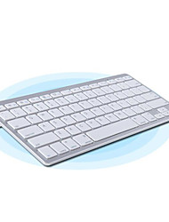 Clavier Bluetooth Fin (Blanc Argenté)