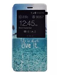 окрашенные PU чехол для телефона Huawei P8 Lite