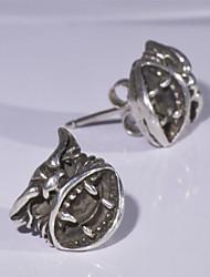 Women's Fashion 925 Silver Vintage Stud Earrings