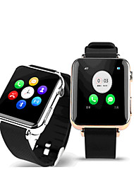 i6 private model Wearable Smart Watch Phone, GSM,0.3MP Camera,Sleep Monitor,Pedometer, Anti-lost(Assorted Colors)