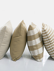 Milk Plaid  Pillow With Insert