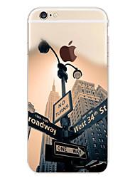 Поэтому картина ТПУ мягкой случай телефона для iPhone 5 / 5s