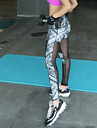 Pantaloni da yoga Pantaloni / Pantalone / Calze / Leggings Traspirante / Elasticizzato / Morbido Naturale Elastico Abbigliamento sportivo