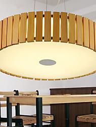 Lustres - Madeira/Bambu - Estilo Mini / Lâmpada Incluída - Quarto / Quarto de Estudo/Escritório / Quarto das Crianças / Quarto de Jogo