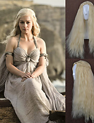 The Mother Of The Rights Of The Game Dragon Cos wWig Dany Liz Cosplay Wig Cos iIn Europe and America